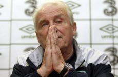 Trapattoni cautious as he readies Tallinn battle plan