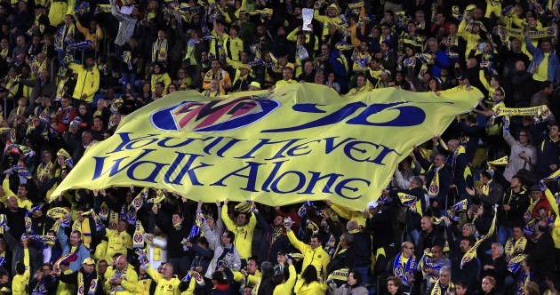 Villarreal paid tribute to the Hillsborough victims tonight