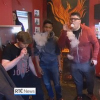 These lads vaping big style took over the RTÉ News