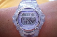 8 reasons every Irish schoolgirl in the noughties needed their Baby G watch