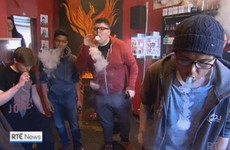 Take a break and check out these lads vaping big style on RTÉ News
