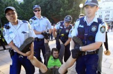 Five arrested after police storm building taken over by Occupy Sydney protesters