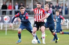 Derry's 9-game unbeaten run ended by Sligo