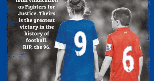 Everton show their class by dedicating programme to families of Hillsborough victims