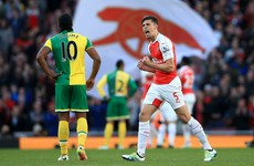 Wenger 'sorry' for Arsenal failings as Norwich edge closer to the drop