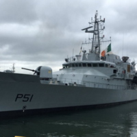"""A source of national pride"" - Ireland's LE Róisín sets sail for the Mediterranean"