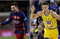 Lionel Messi and Steph Curry have a strong bromance going on