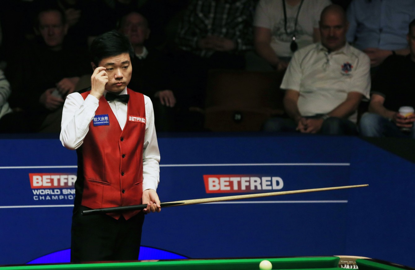 Ding falls behind in gruelling World Championship final · The42