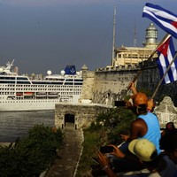 PHOTOS: US cruise ship arrives in Cuba for the first time in 40 years
