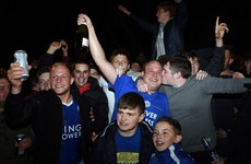'I feel like I'm in heaven' - Thousands of Leicester fans take to the streets to celebrate