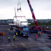 Watch: This Boeing 767 is nearly ready to make a Sligo glamping village its new home