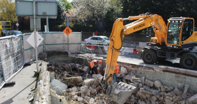 Public toilets over 100 years old are demolished to clear way for Luas
