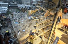 Miracle as toddler is pulled from the wreckage of a collapsed building after four days