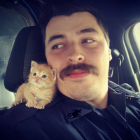 Take a break and check out this police officer's new partner