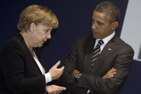Top of the top ten entries: Angela Merkel and Barack Obama.