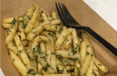 McDonald's is trialling garlic fries now and they look absolutely delish