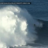 WATCH: Surfer rides amazing 90 foot wave - a new world record?