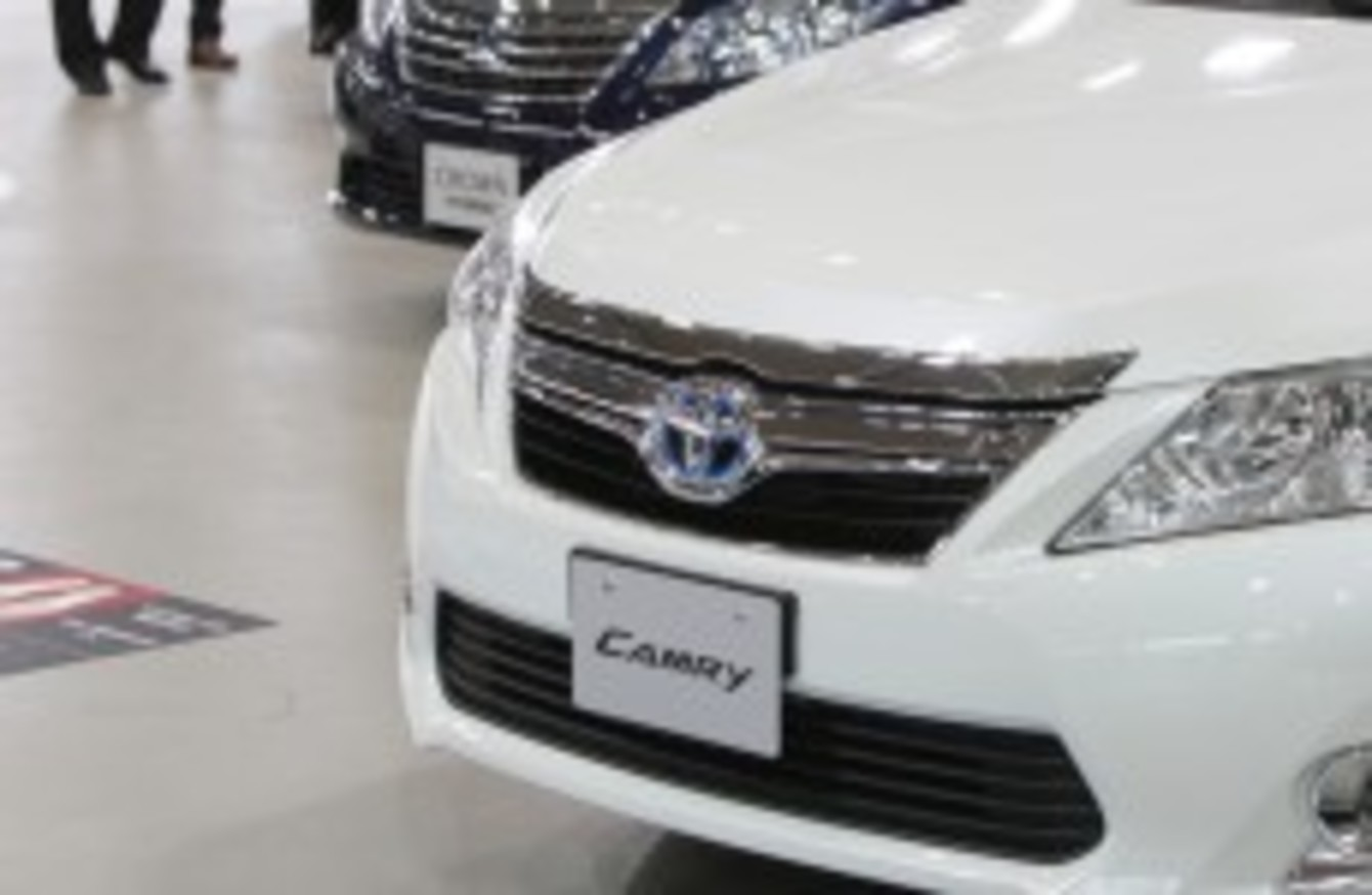Toyota to recall 550,000 vehicles over steering problem · TheJournal ie