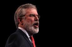 """The Irish were sold as slaves"" - Gerry Adams has spoken once again about THAT tweet"