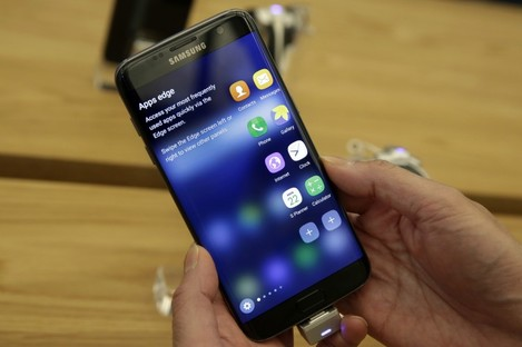 Sometimes your best chance of getting the latest version of Android is to buy a brand new phone like the Galaxy S7 (pictured).