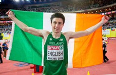 Ireland's leading track hopeful Mark English faces a race against time to be fit for Rio