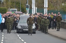 14 arrested at paramilitary-style funeral of man shot in Dublin pub