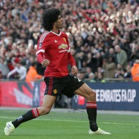 Fellaini free to play FA Cup final as Belgian gets three-match ban for Huth elbow