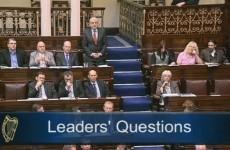 Luke 'Ming' Flanagan wears hemp suit in the Dáil