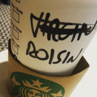 One poor Róisín has just suffered the ultimate Starbucks injustice
