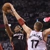Raptors v Heat goes to overtime again - and it's all square as we head for Game 3