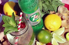 7UP has just released a new mojito-flavoured soft drink in Ireland