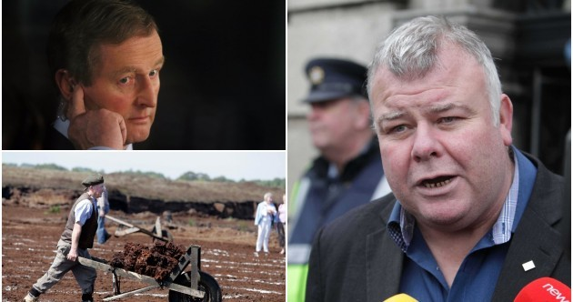 It was turf, bogs and roads that threatened Enda Kenny right to the end
