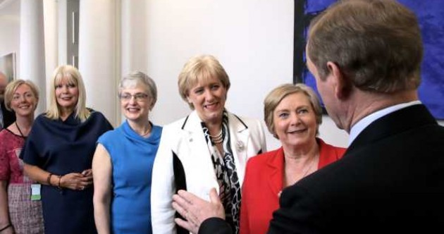 Despite a pledge by Enda Kenny, no increase in the number of female ministers