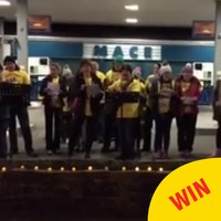Choirs across Ireland came out to show wonderful support for Darkness Into Light