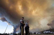 Massive Alberta wildfire could double in size today