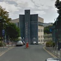 Protest: Two homeless men have occupied a Bray council building