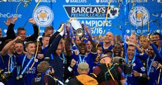 12 of the best pictures as Leicester City lift the Premier League trophy