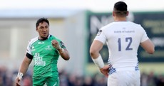 Bundee Aki voted Player of the Year in Connacht, Ben Te'o takes Leinster gong