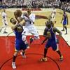 Lillard's fab 40 gives Trail Blazers hope against Warriors