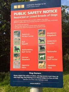Local councillor creates online storm with Facebook post on restricted dog breeds