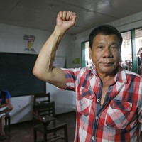 """A politician who makes rape jokes and is called """"The Trump of the East"""" is set to become Philippines president"""