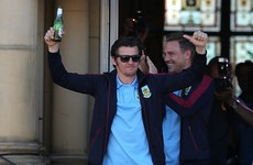 Embarrassing medal snub for Joey Barton as Burnley celebrate Premier League promotion