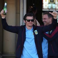 Embarrassing medal snub for Joey Barton as Burnley celebrate Premier League promotion