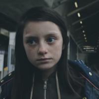 Powerful video shows child fleeing war-torn England