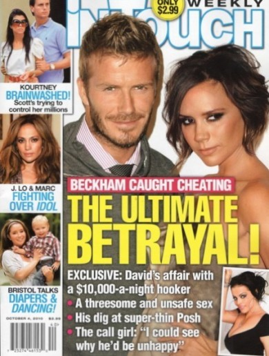 Beckham 'to sue' over three-in-a-bed hooker claims