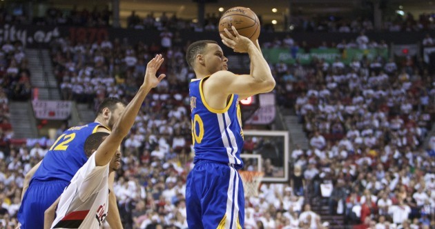 Steph's back, baby! Curry drops 17 points in overtime to snatch Game 4 for Golden State
