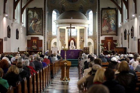 Collections at Sunday mass have fallen dramatically, leading to lower salaries for Catholic priests