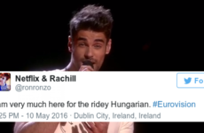 The thirst for Hungary's Eurovision entry was out of control