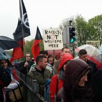 Dublin community protests against racism following attack on Afghan family