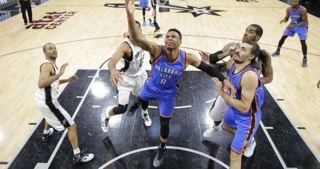 The Thunder could be about to turn the NBA playoffs upside down